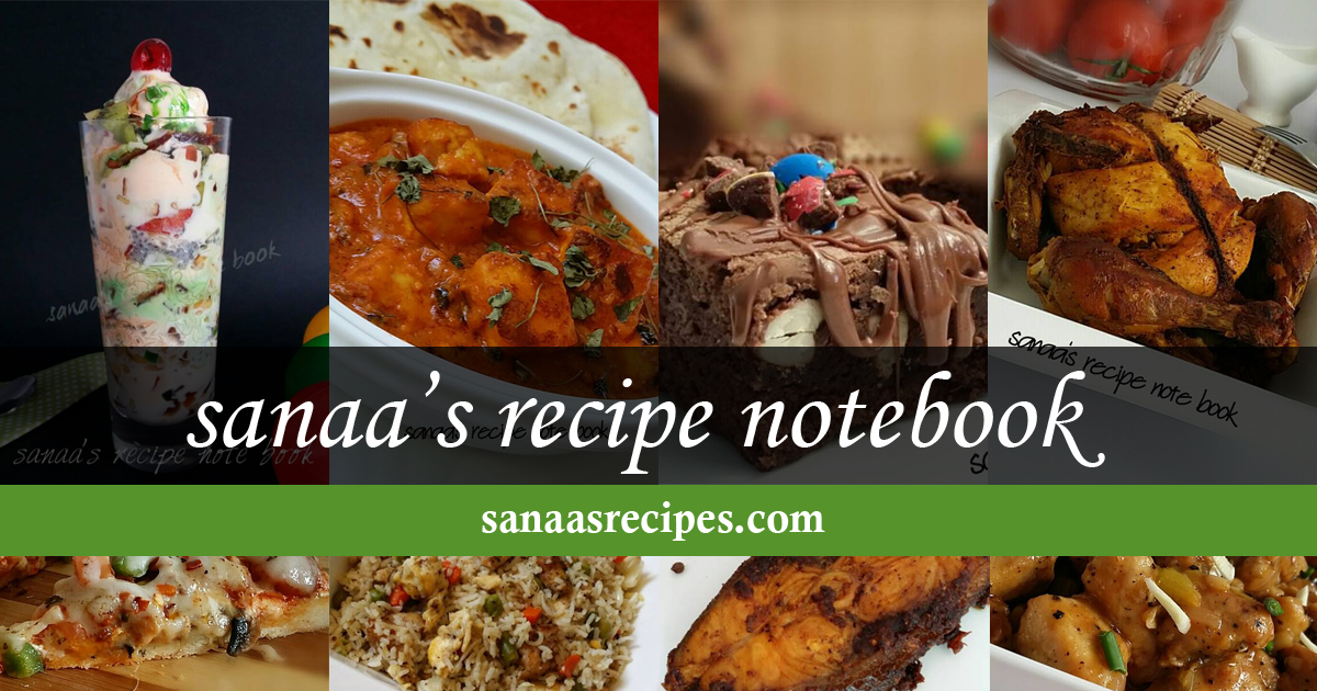 Sanaas recipe notebook original signature recipes forumfinder Choice Image