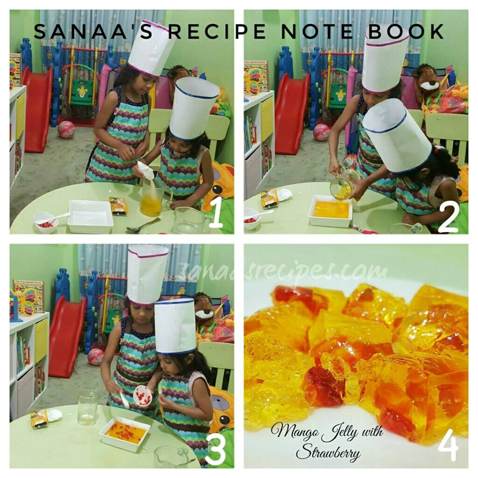 Kids Corner - sanaa's recipe