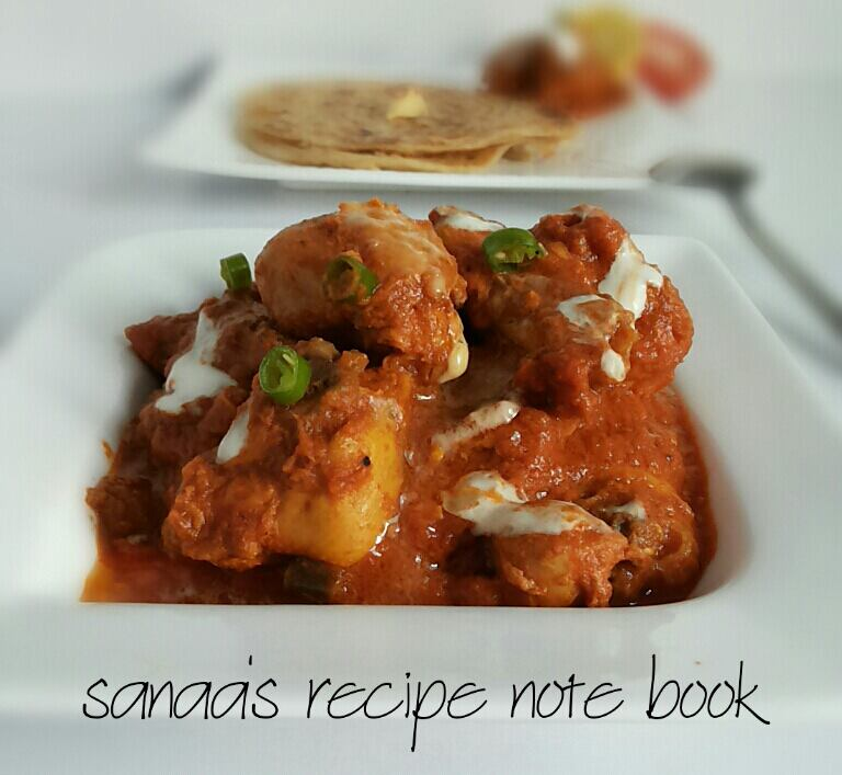 Amritsari Butter Chicken - sanaa's recipe