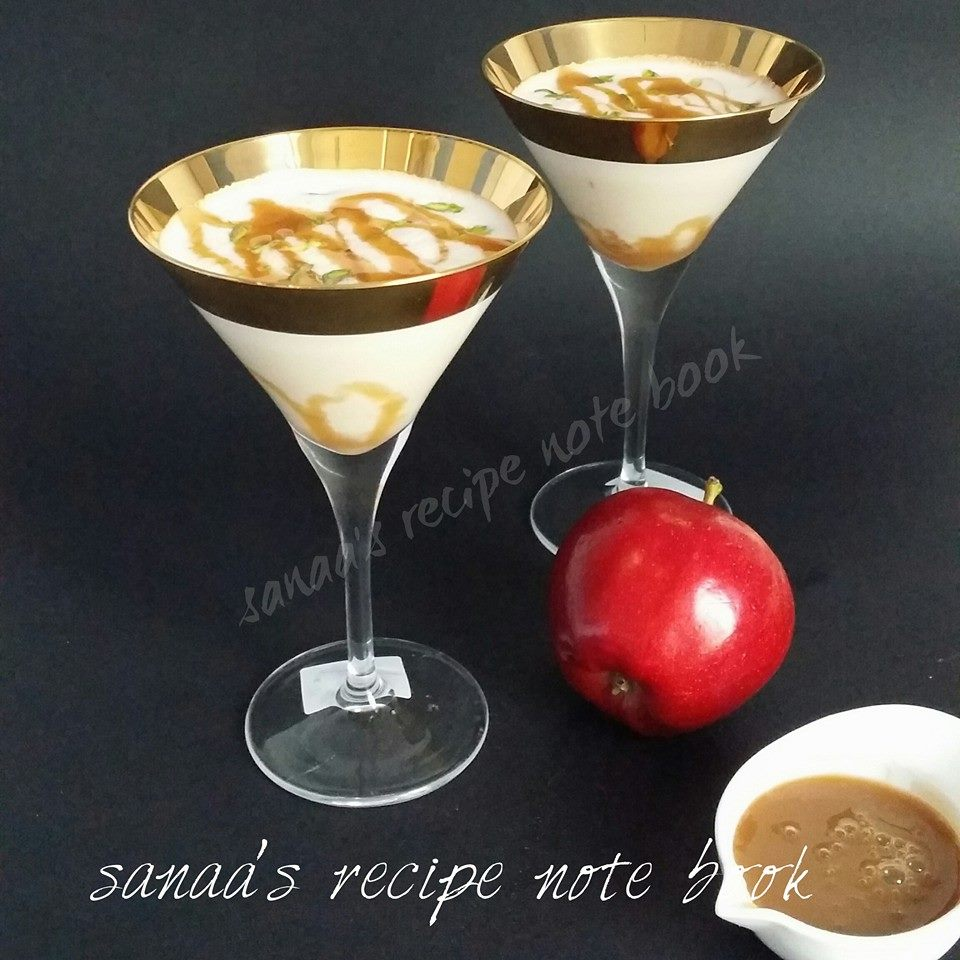 Caramel Apple Milk Shake - sanaa's recipe