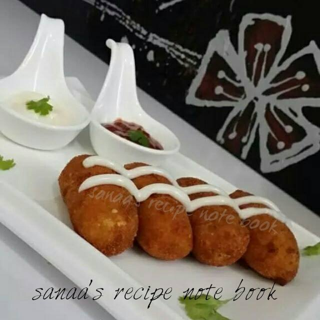 Chicken Croquettes - sanaa's recipe