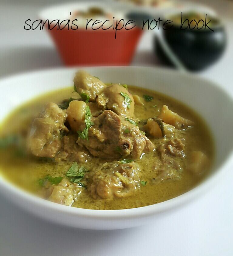 Chicken Korma - sanaa's recipe
