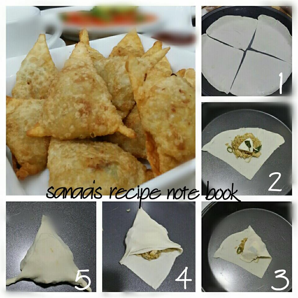 Chicken Samosa - sanaa's recipe