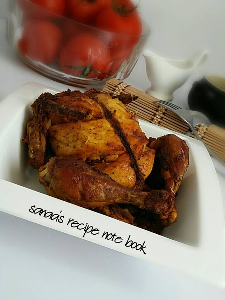 Grilled Chicken - sanaa's recipe