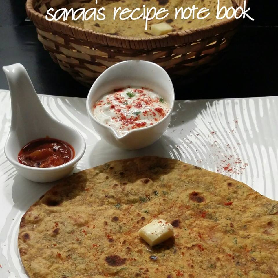 Methi Paratha - sanaa's recipe