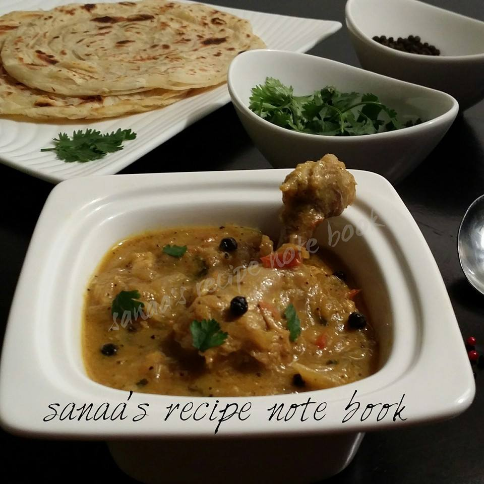 Pepper Chicken Masala - sanaa's recipe