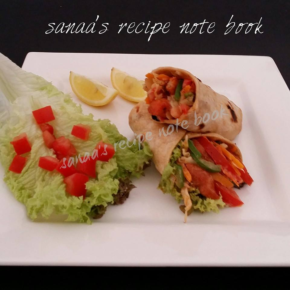 Chicken Wrap - sanaa's recipe