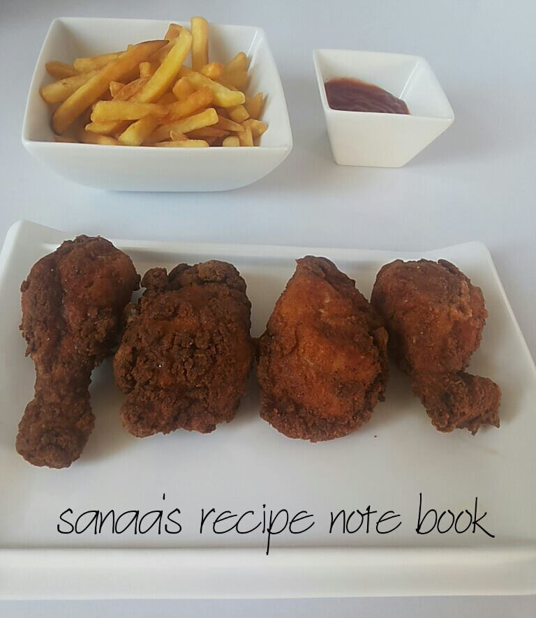 Crispy Chicken Fry - sanaa's recipe
