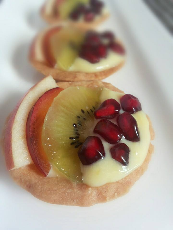 Fruit Custard Tart - sanaa's recipe