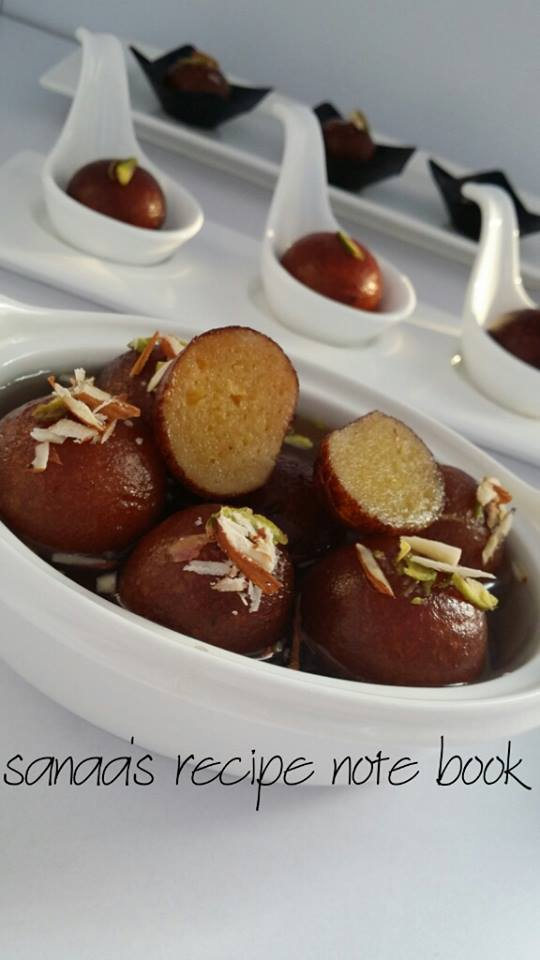 Gulab jamun sanaas recipe note book original signature recipes gulab jamun forumfinder