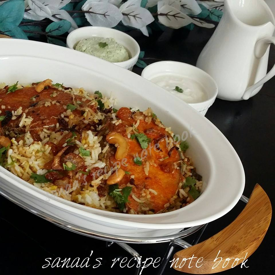 King Fish Biriyani - sanaa's recipe