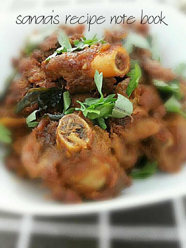 Mutton Fry - sanaa's recipe