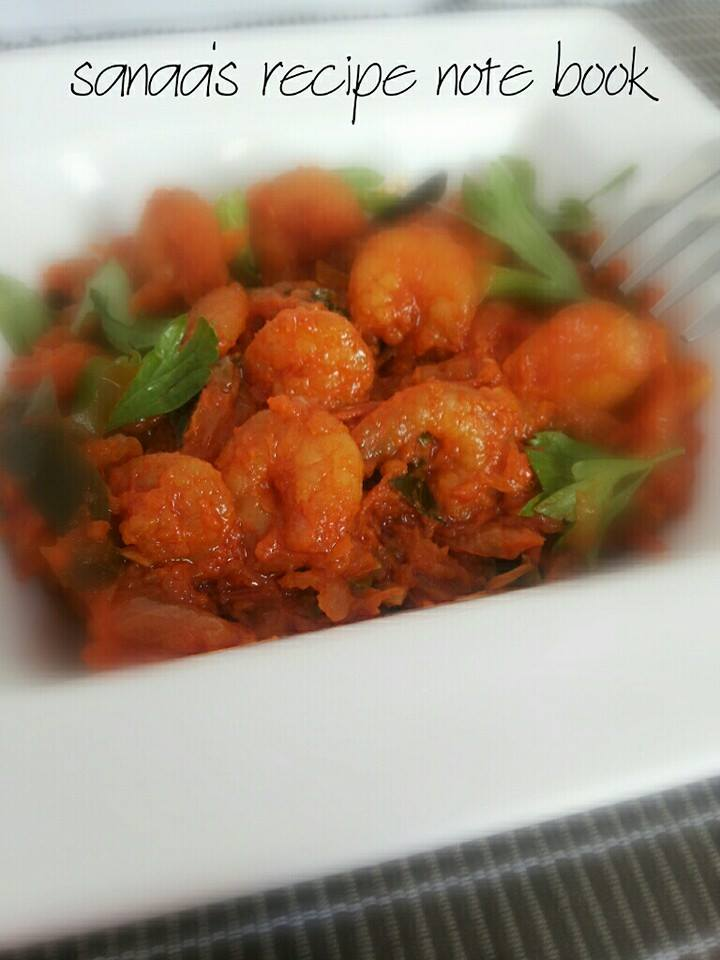 Prawn Masala - sanaa's recipe