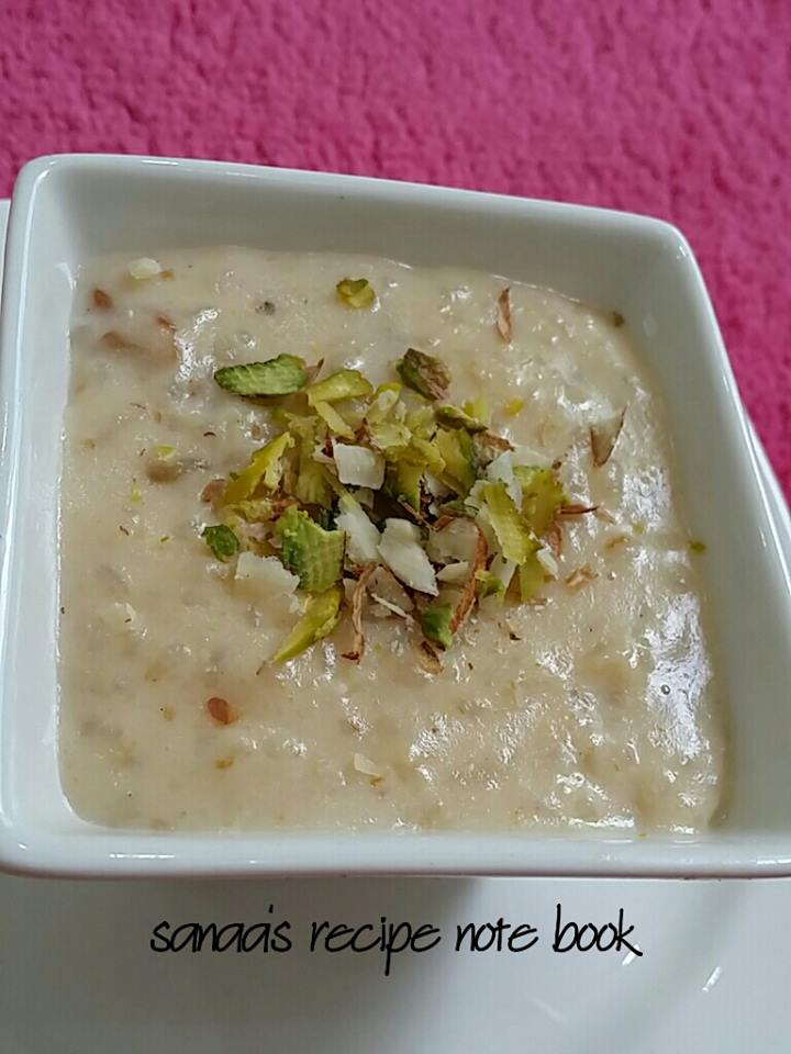 Rice Kheer / Rice Pudding/ Paal Payasam - sanaa's recipe