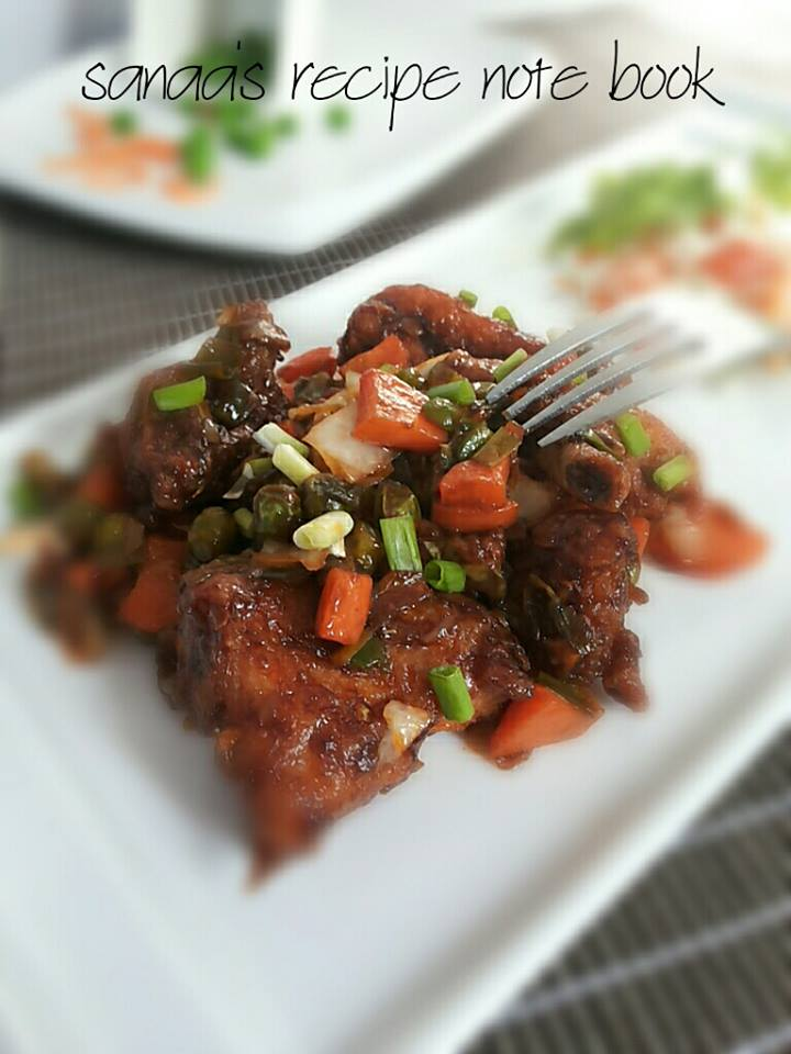 Shanghai Chicken - sanaa's recipe