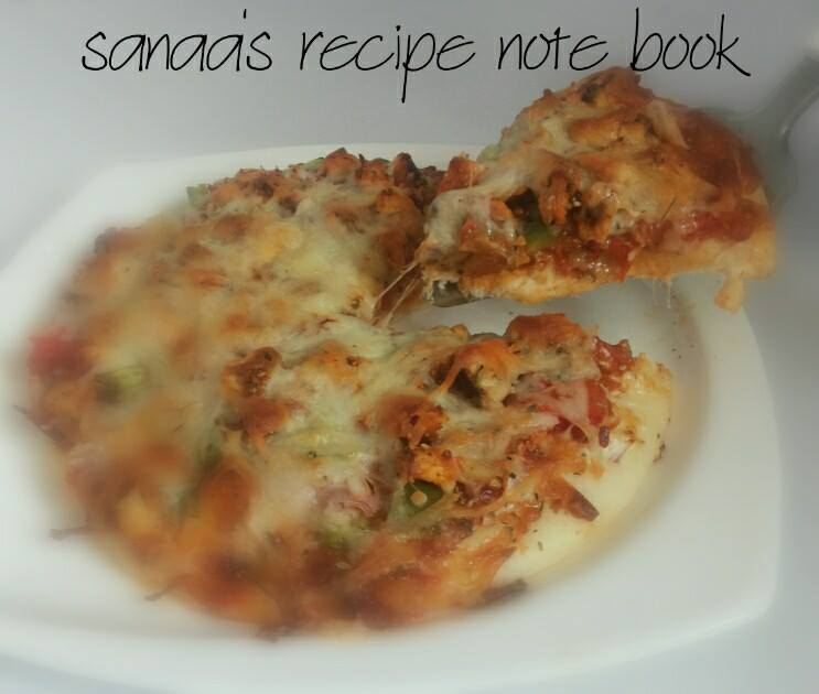 Spicy Chicken Pizza - sanaa's recipe