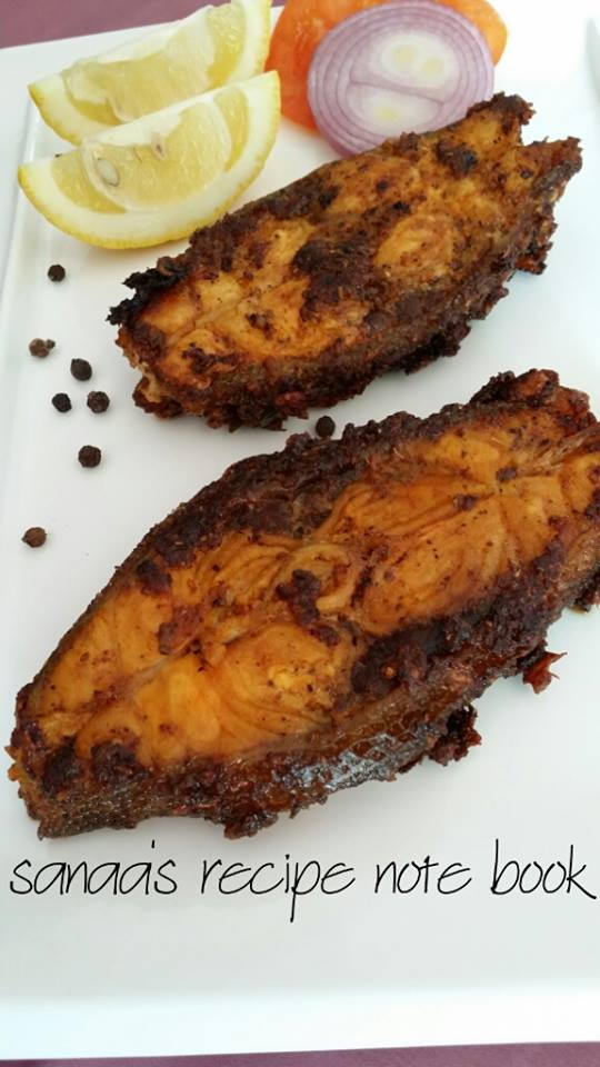 Spicy Fish Fry - sanaa's recipe