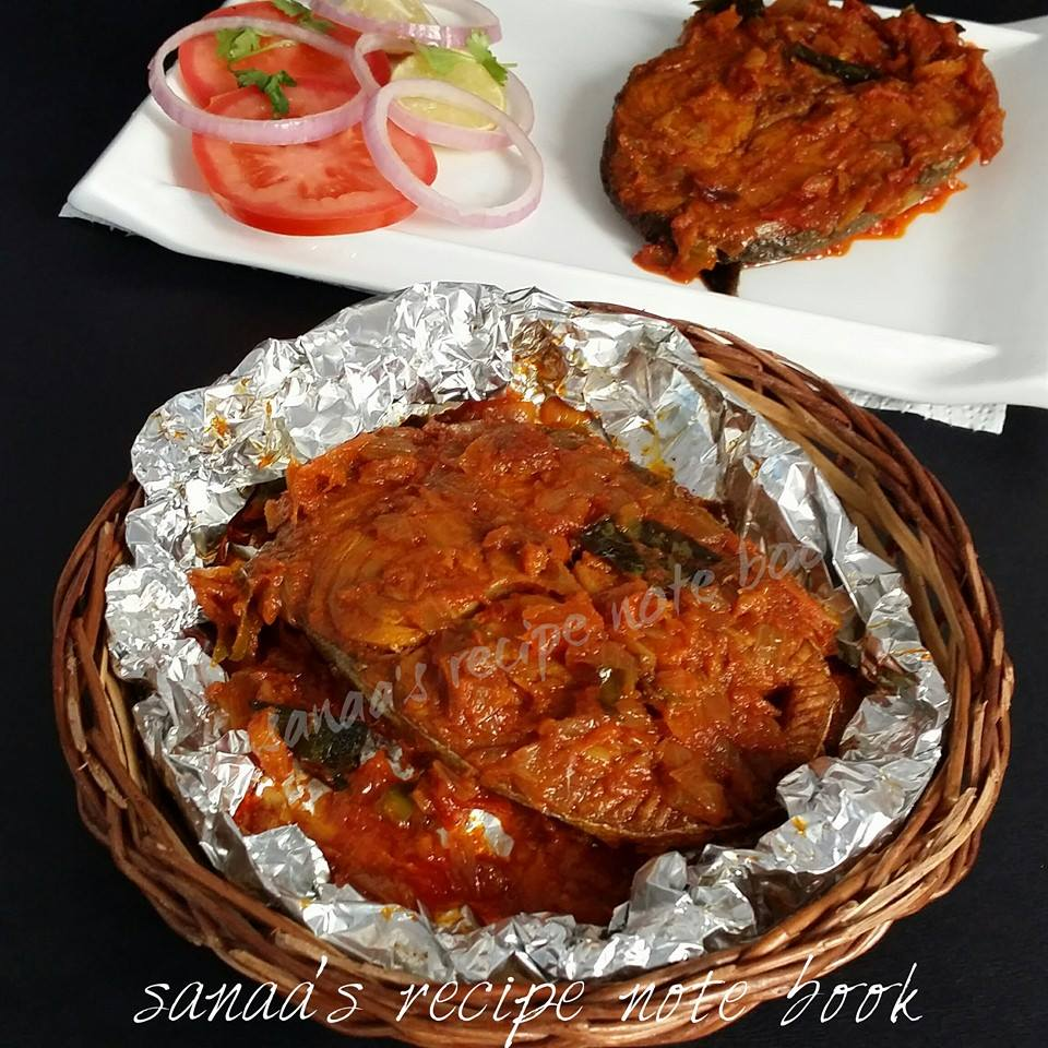 Steamed Fish Fry - sanaa's recipe