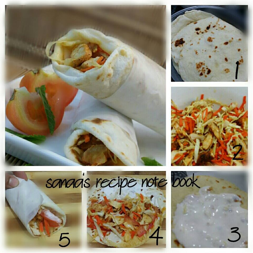 Chicken Shawarma - sanaa's recipe