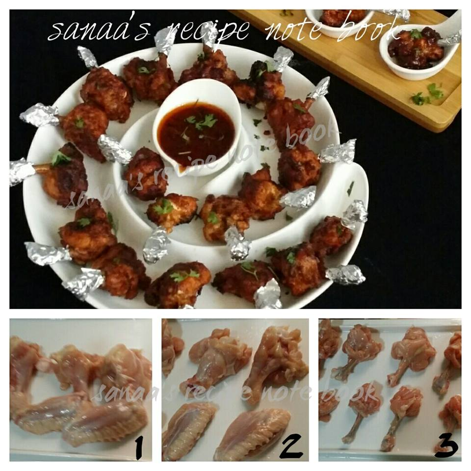 Sanaas recipe notebook original signature recipes chicken lollipop forumfinder Images