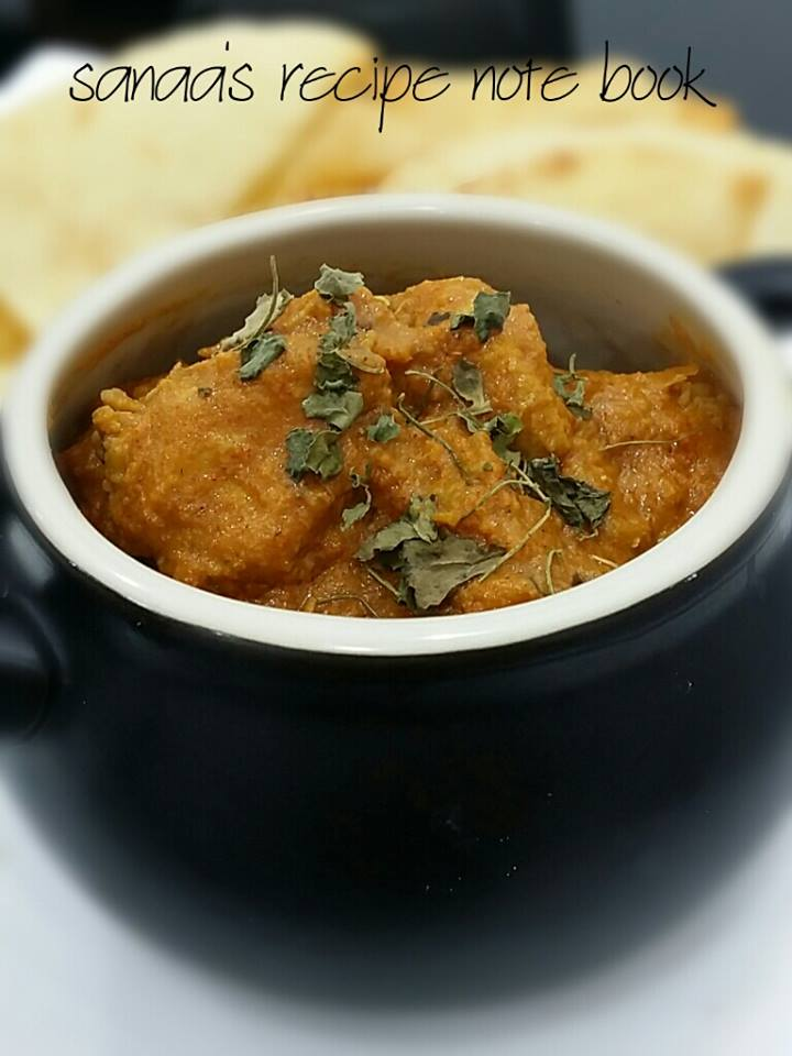 Butter Chicken 1 - sanaa's recipe