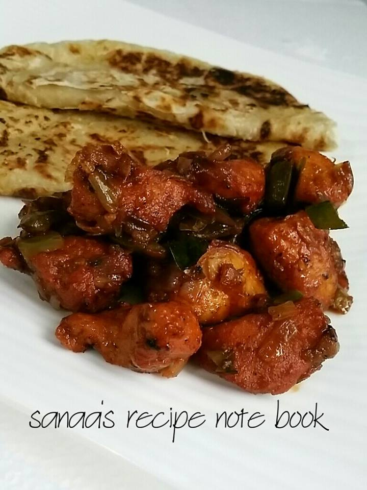 Chicken 65 - sanaa's recipe