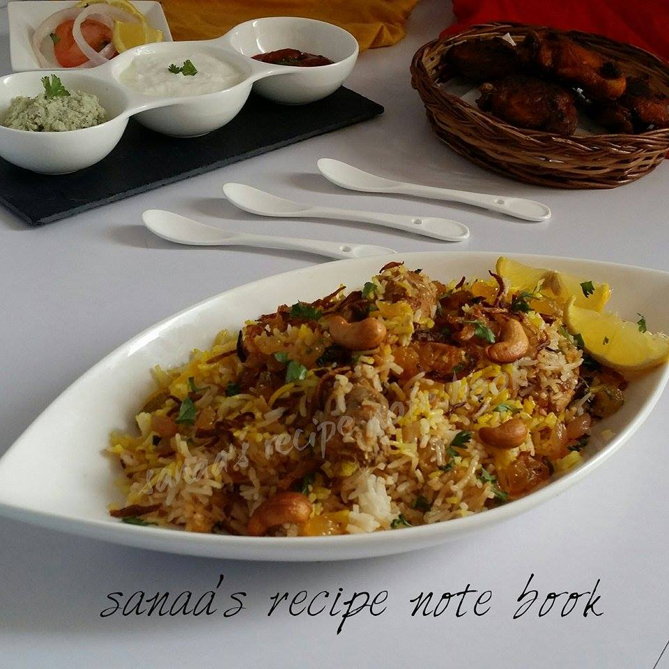 Chicken Biriyani - sanaa's recipe