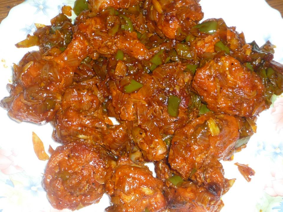 Chilly Chicken 1 - sanaa's recipe