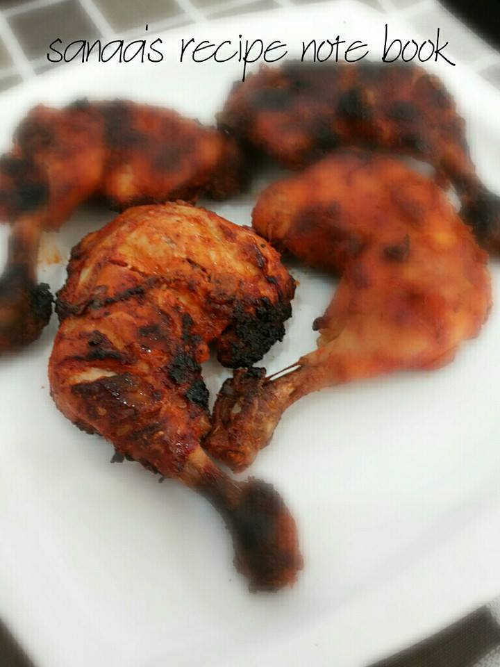 Tandoori Chicken - sanaa's recipe