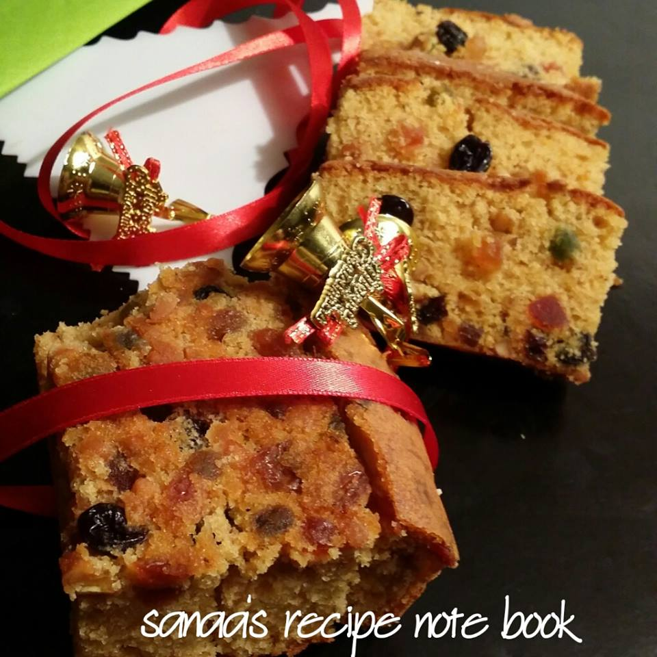 Fruit Cake - sanaa's recipe