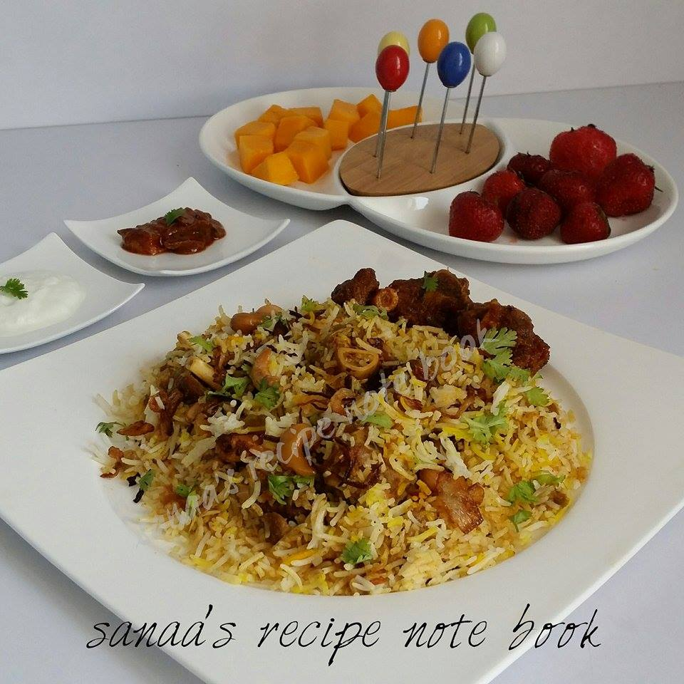 Special Mutton Biryani - sanaa's recipe