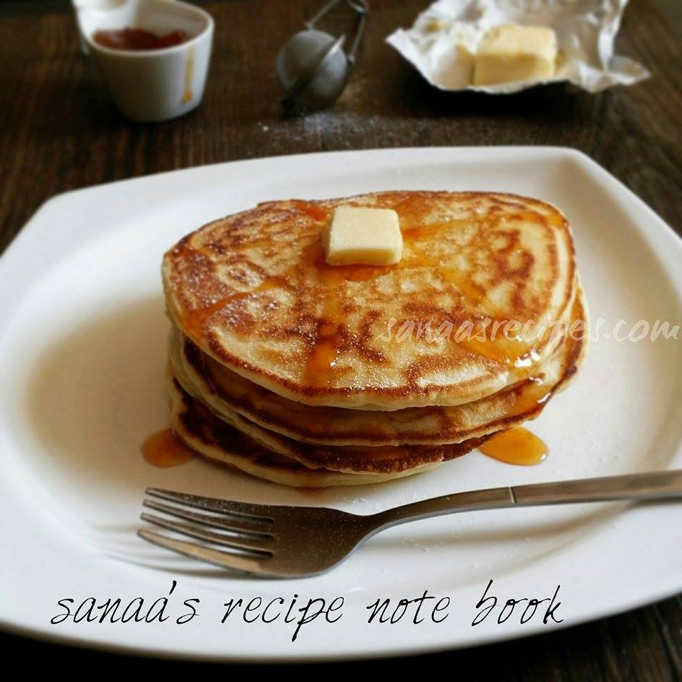 Simple Pancake - sanaa's recipe