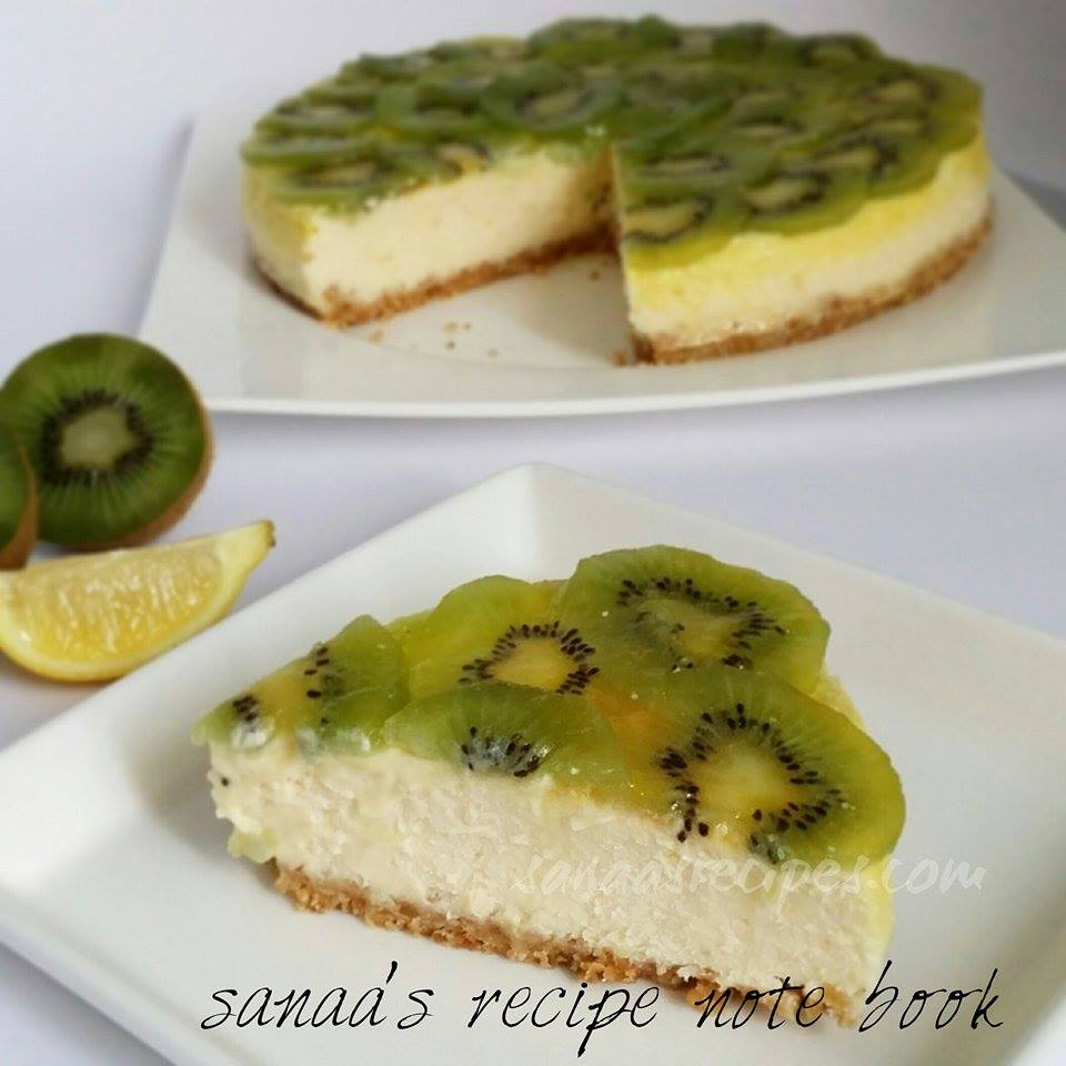 Kiwi And Lime Cheesecake - sanaa's recipe