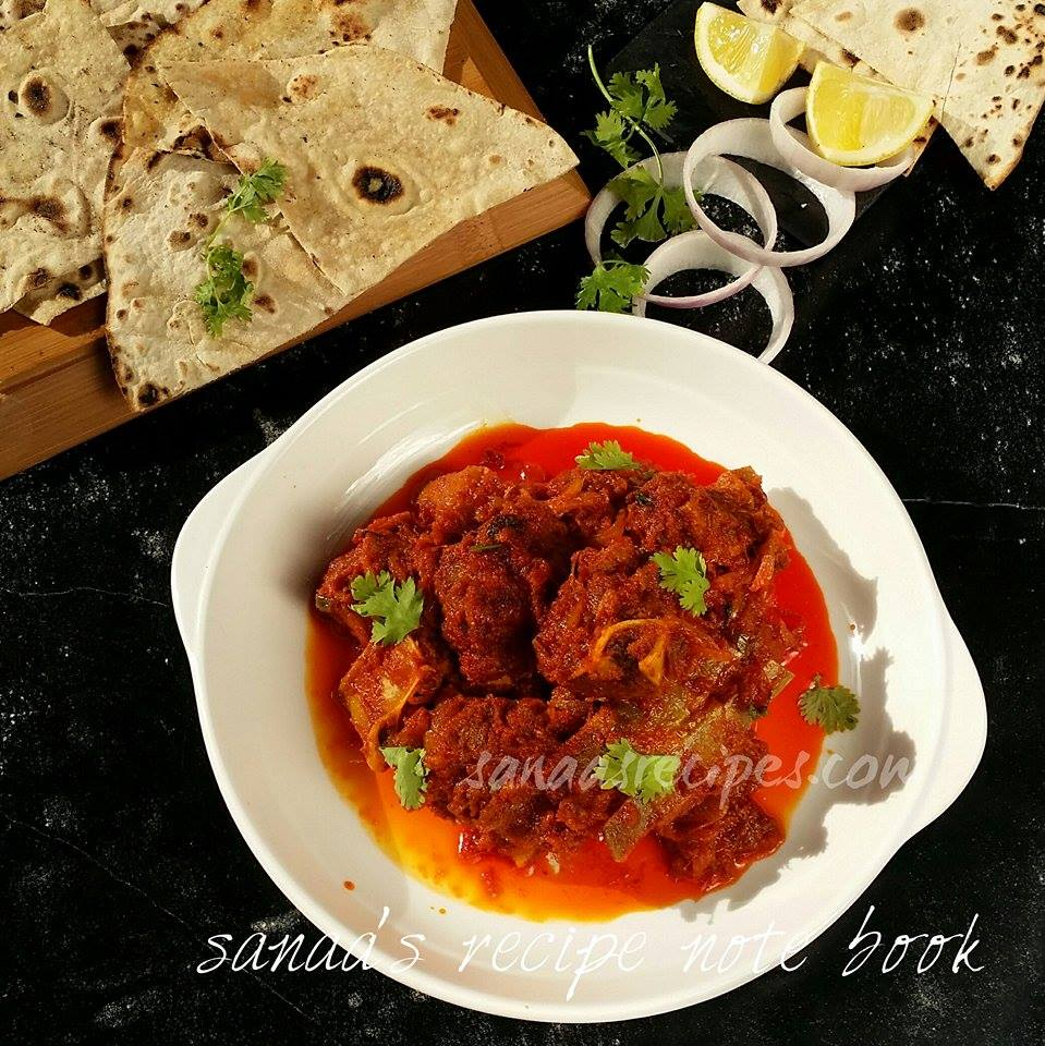 Kadai Mutton/ Mutton Karahi - sanaa's recipe