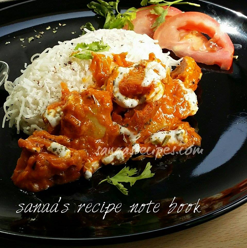 Yogurt Chicken / Dahi Murgh - sanaa's recipe
