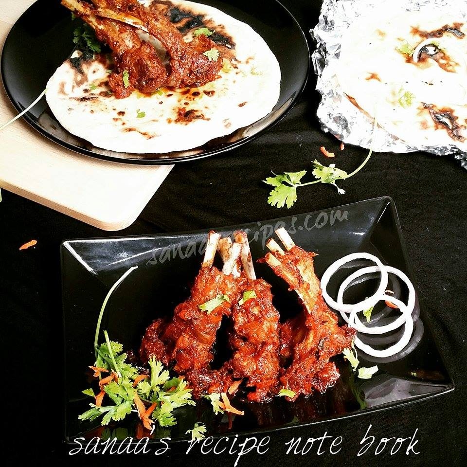 Mutton Chops/ Lamb Chops - sanaa's recipe