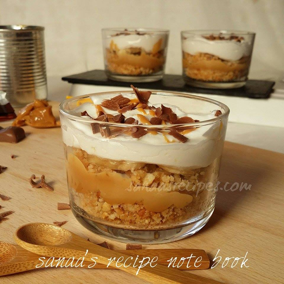 Banoffee Pie - sanaa's recipe