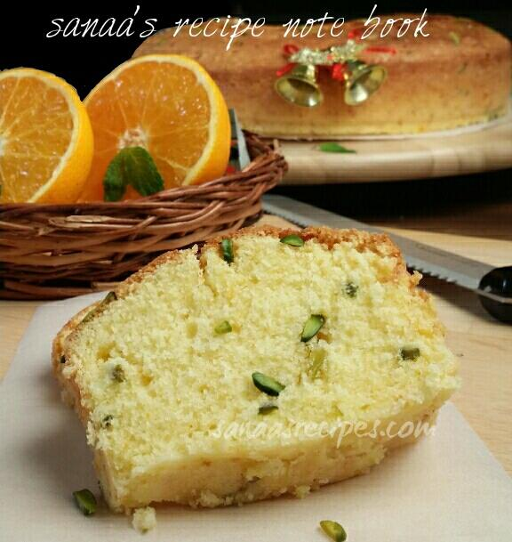 Orange Cake - sanaa's recipe