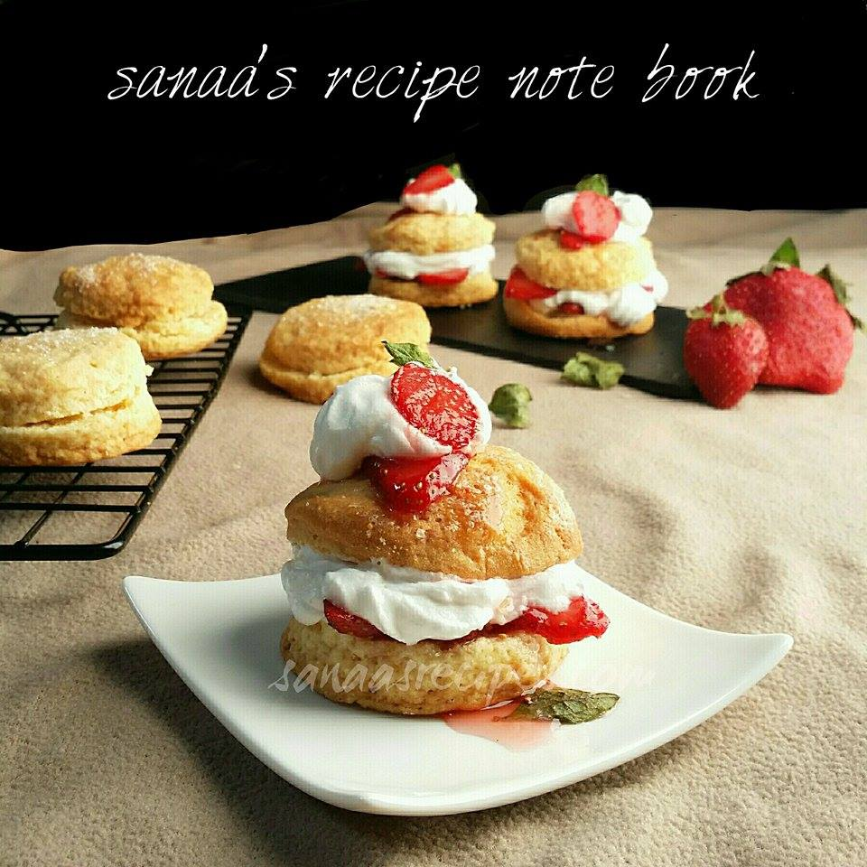 Strawberry Shortcake - sanaa's recipe