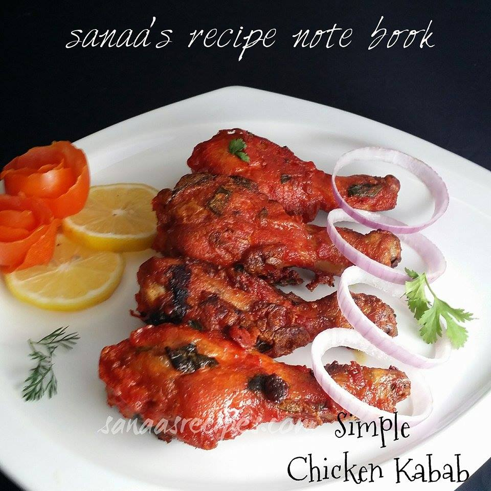 Simple Chicken Kabab - sanaa's recipe