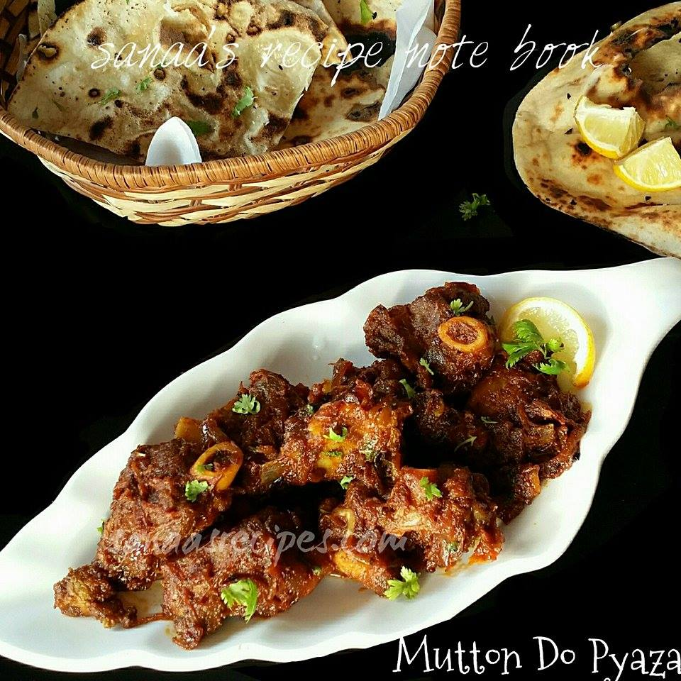 Mutton Do Pyaza - sanaa's recipe