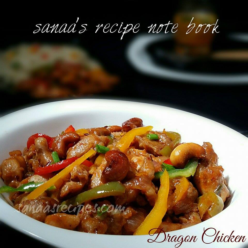 Dragon Chicken - sanaa's recipe
