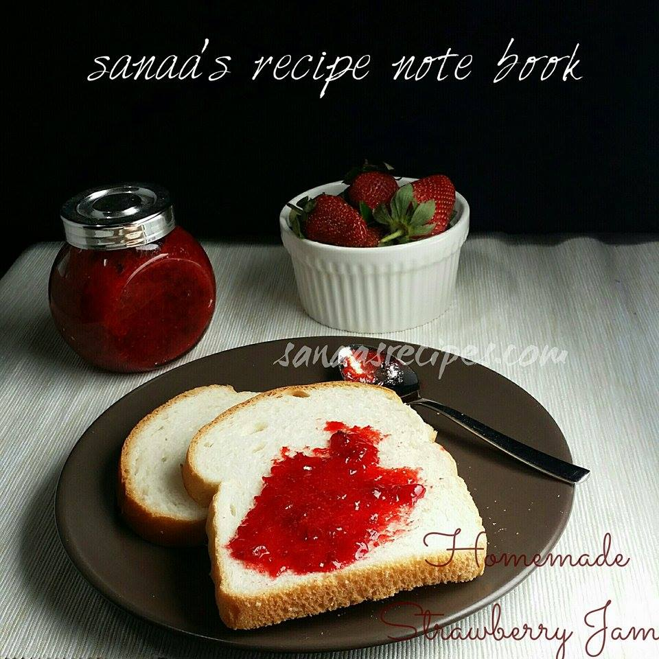 Homemade Strawberry Jam - sanaa's recipe