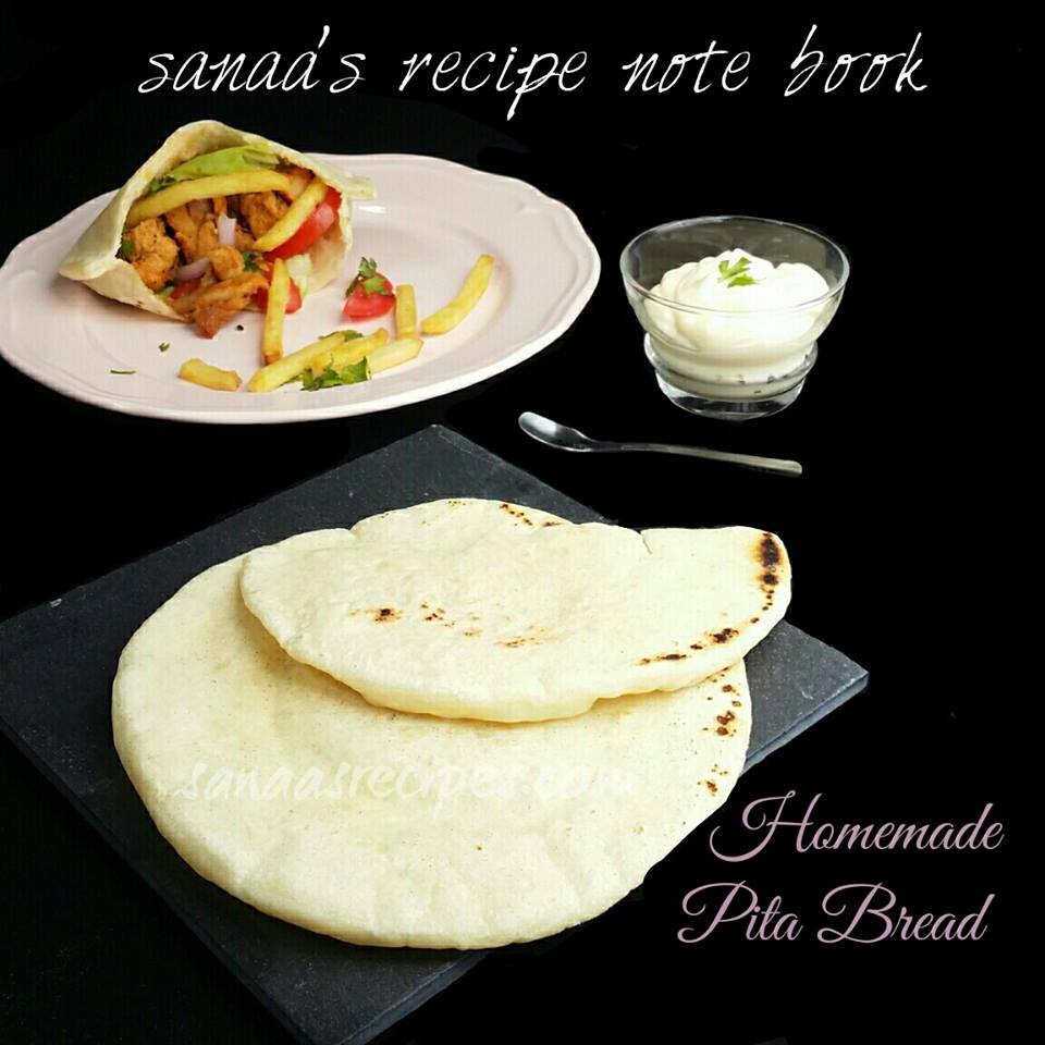 Homemade Pita Bread - sanaa's recipe