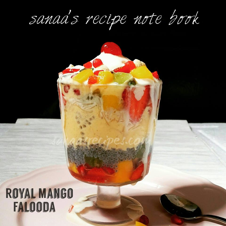 Royal Mango Falooda - sanaa's recipe