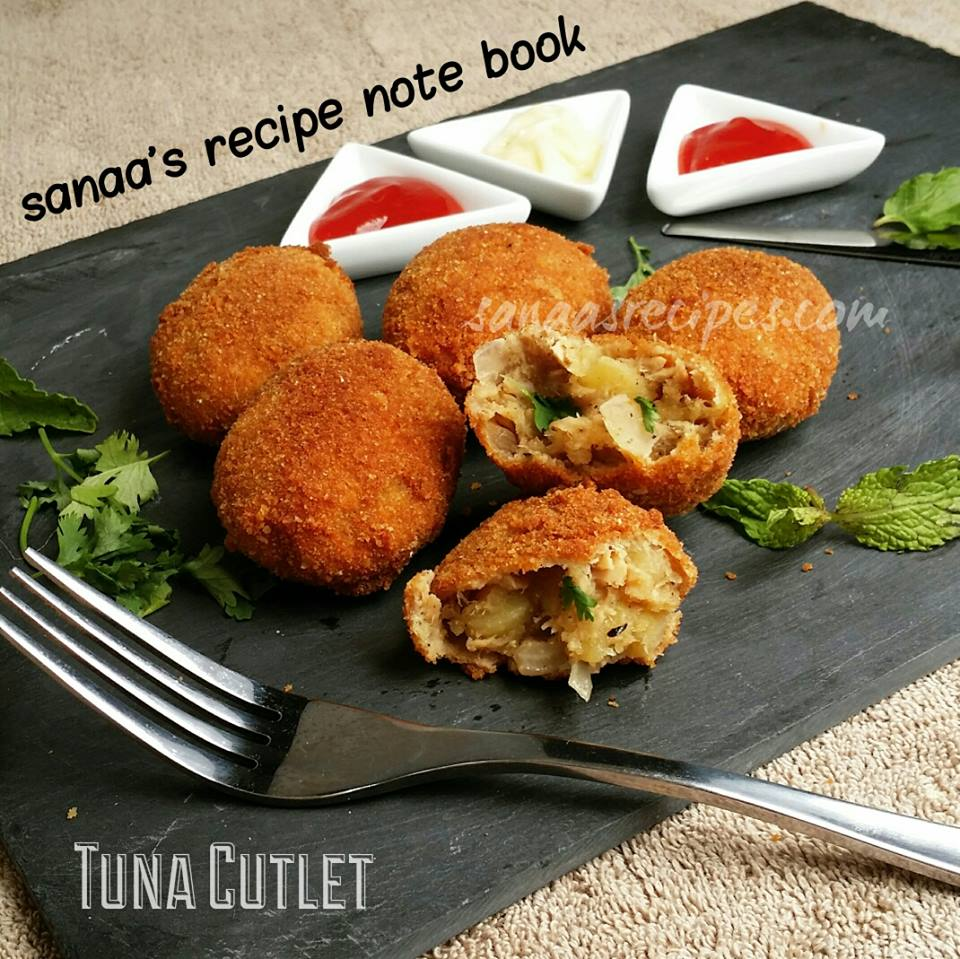 Tuna Cutlet - sanaa's recipe