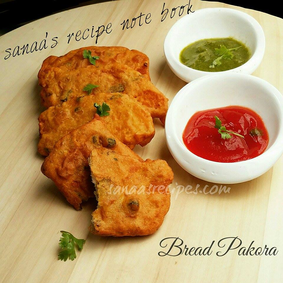 Bread Pakora - sanaa's recipe