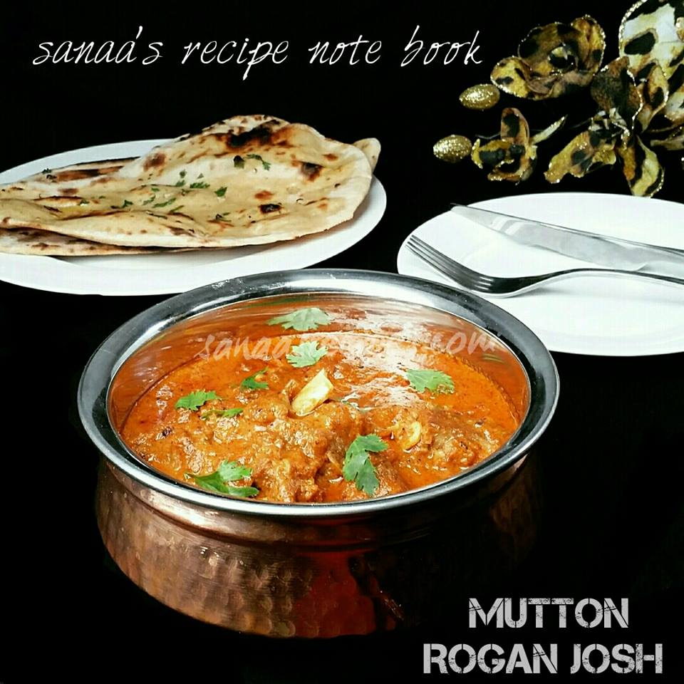 Mutton Rogan Josh - sanaa's recipe