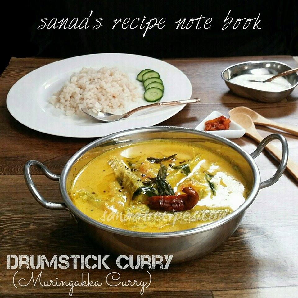 Drumstick Curry/ Muringakka Curry - sanaa's recipe