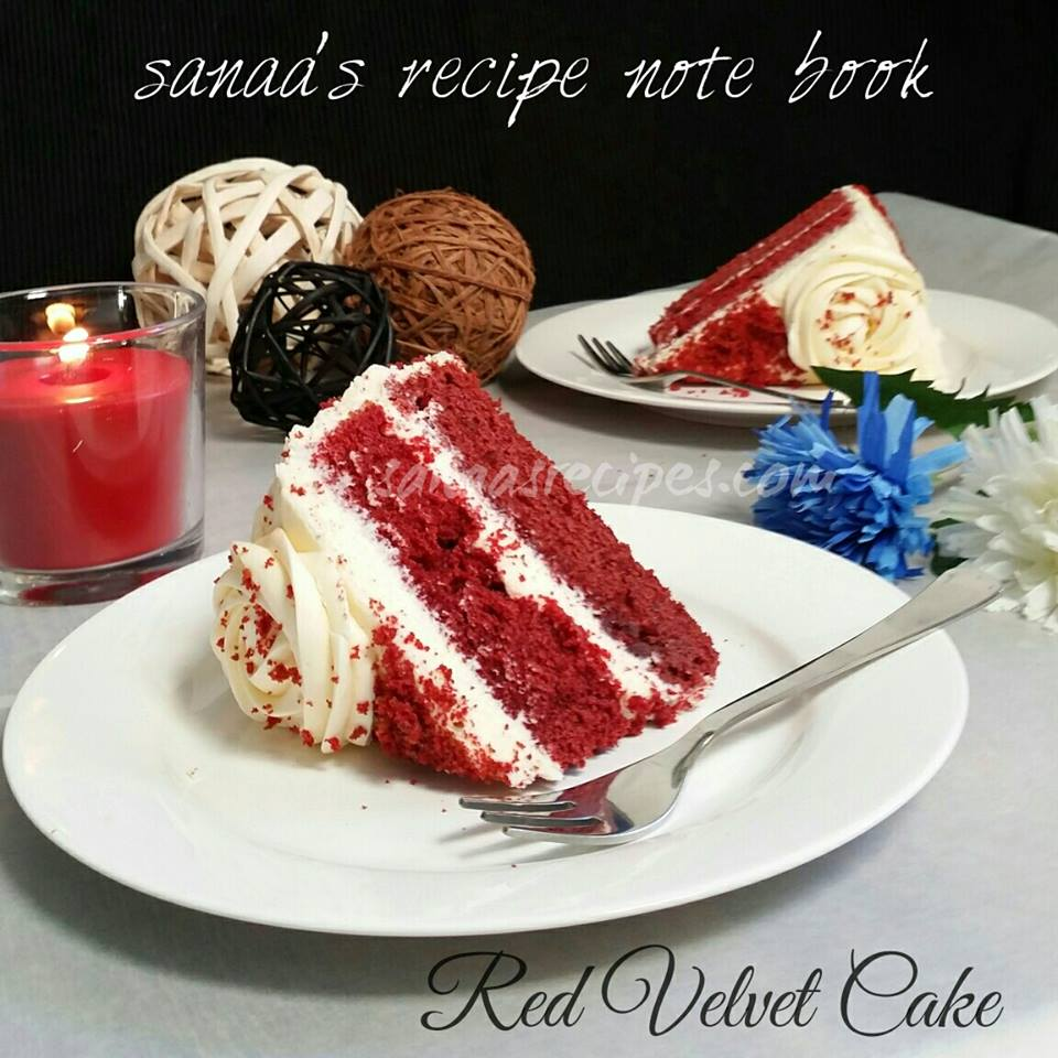 Red Velvet Cake - sanaa's recipe
